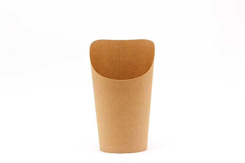 Fries wrap paper cup